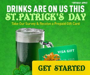 EZ Reward - St. Patrick's Day