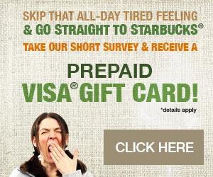PrimeRewardUSA - Starbucks Questions