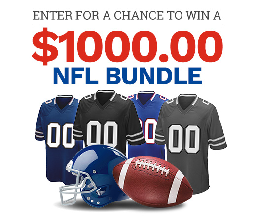 Sweepstakes A Month – NFL Bundle
