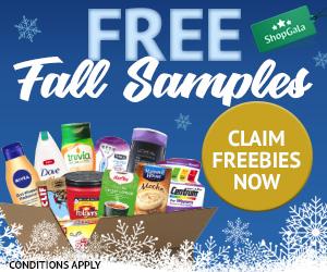 ShopGala - Free Samples Winter