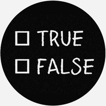 True or False Quiz