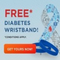 Get a Free Diabetes Wristband!