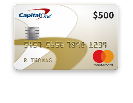 $500 Capital One Gold (US) (Incentive)
