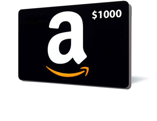 $1000 Amazon Gift Card (US) (Incentive)