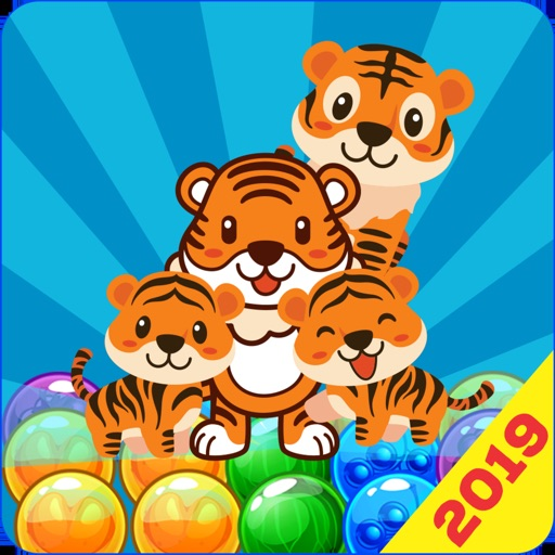 Tiger Bubble Shooter