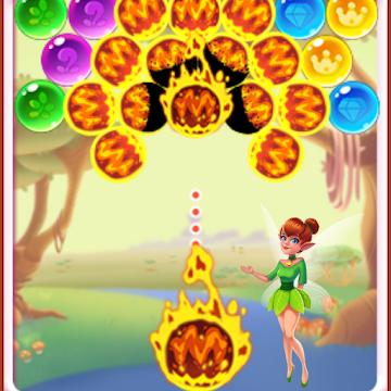 Balloon Fly Bubble Pop